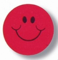 Strawberry Scented Smile Stickers Pk80 EU650910
