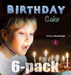 Literacy Tower - Level 1 - Non-Fiction - Birthday Cake - Pack of 6 2770000031295