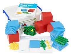 Base Ten Classroom Pack - 4 Colour 184pcs 4710953444733
