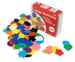 Large Button Approx. 90 Assorted  4710953448373