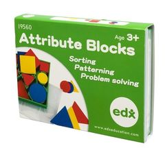 Attribute Blocks 60 Pieces 4710953441732