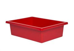 Plastic Tote Tray Red 2770000028578