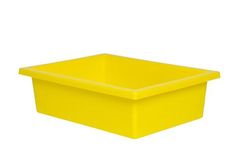 Plastic Tote Tray Yellow 2770000028585