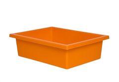 Plastic Tote Tray Orange 2770000028653