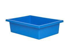 Plastic Tote Tray Light Blue 2770000028660
