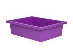 Plastic Tote Tray Purple 2770000028677