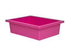 Plastic Tote Tray Magenta 2770000028691