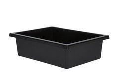Plastic Tote Tray Black 2770000028707
