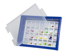 Letter Storage Tray Set Blue 2770000028790