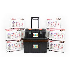 littleBits - 10 X Star Wars Droid Inventor Kit Class Pack + Storage - Suits 30 Students 2770000042451