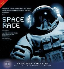 Literacy Tower - Level 30 - Non-Fiction - Space Race - Teacher Edition 9781776503223