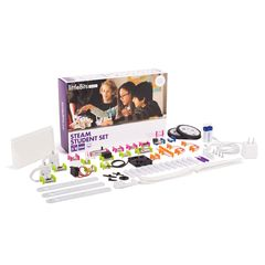 littleBits - Steam Student Set Education - Suits 1 - 3 Students 810876021180