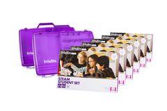 littleBits - 6 X Steam Student Set Education Class Pack + 2 X Storage Box - Suits 18 Students 810876021241