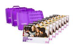 littleBits - 8 X Steam Student Set Education Class Pack + 3 X Storage Box - Suits 24 Students 810876021258