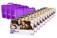 littleBits - 10 X Steam Student Set Education Class Pack + 4 X Storage Box - Suits 30 Students 810876021265