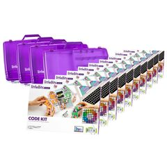 littleBits - 10 X Code Kit Education Class Pack + 4 X Storage Box - Suits 30 Students 810876022613