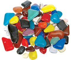 Mosaic Stones Glass 500g (Assorted Colours) 9331866008635