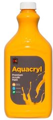 Aquacryl Paint 2L Warm Yellow 9314289001490