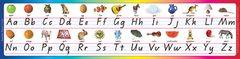 Alphabet Desk Strips Qld Beginners Script (Pack of 30) 9781877062131
