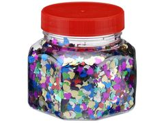 Scatters Shapes 100g Jar (Assorted Colours) 9314812111078