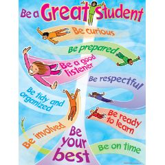 Be A Great Student Chart 078628382792