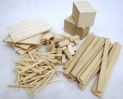 Balsa Basics Pack Assorted 152 Pieces 2770000007498