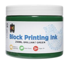 Block Printing 250ml Br.Green 9314289001964