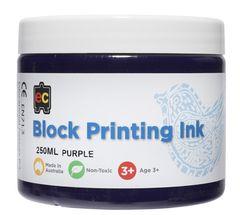 Block Printing 250ml Purple 9314289002015