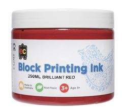 Block Printing 250ml Br.Red 9314289001971