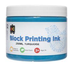 Block Printing 250ml Turquoise 9314289002022