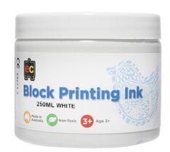 Block Printing 250ml White 9314289002039