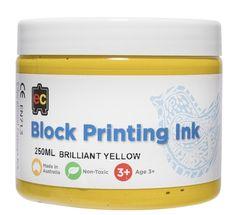 Block Printing 250ml Br.Yellow 9314289001988