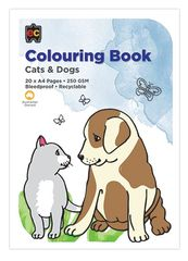 Colouring Book Cats & Dogs  9314289025120