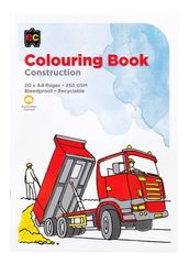 Colouring Book Construction  9314289025137