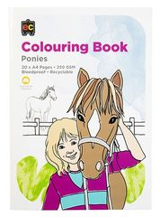 Colouring Book Ponies  9314289015633