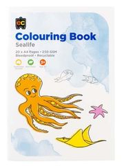 Colouring Book Sea Life  9314289017088