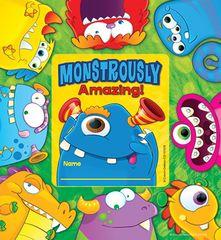 Certificate - Monsters Framed - Pk 36  CD101078