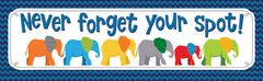 Bookmarks - Never Forget Your Spot! Parade Of Elephants - Pk 30 CD103047