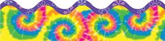 Border Scalloped - Timeless Tie-Dye  CD108087