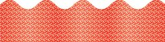Border Scalloped - Red Sparkle  CD108096