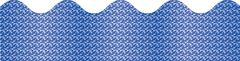 Border Scalloped - Blue Sparkle CD108097