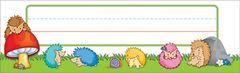 Name Plates - Happy Hedgehogs - Pk 36 CD122032