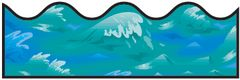 Border Scalloped - Ocean Waves CD1240