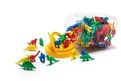 Counters Dinosaur Jar Of 128 9314289011963
