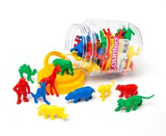 Counters Wild Animal Jar Of 40 9314289026370