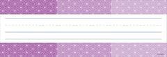 Name Plates - Ombre Purple Radiant Stars - Pk 36  CTP4459