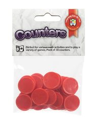 Counters Red pack of 30 9314289023645