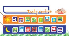 Daily Routine Magnetic Chart 2770000044479