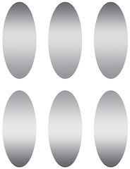 Stickers - Scratch-Off Stickers Ovals - Pk 180  EU627002