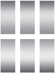 Stickers - Scratch-Off Stickers Rectangles - Pk 180 EU627003